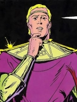 Ozymandias as illustrated by Gibbons