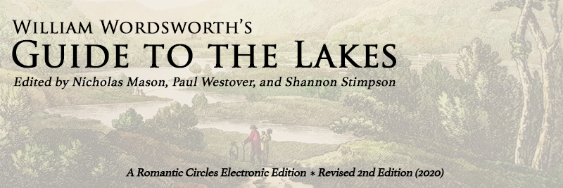 Wordsworth's Guide to the Lakes