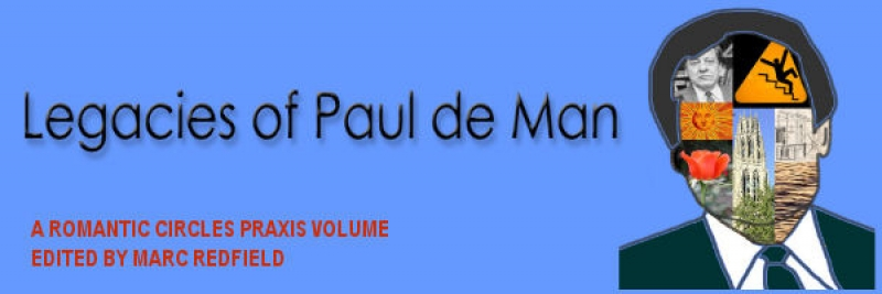Legacies of Paul de Man, Edited by Marc Redfield