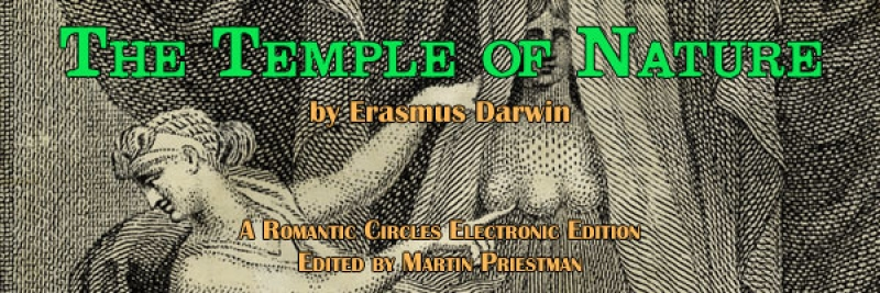 The Temple of Nature, Edited by Martin Priestman