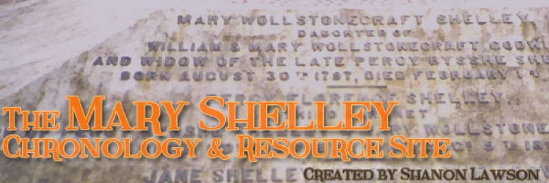 Mary Shelley Chronology