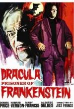 Dracula Prisoner of Frankenstein poster