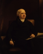 William Sharp, by James Lonsdale