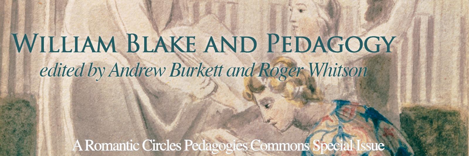 William Blake and Pedagogy
