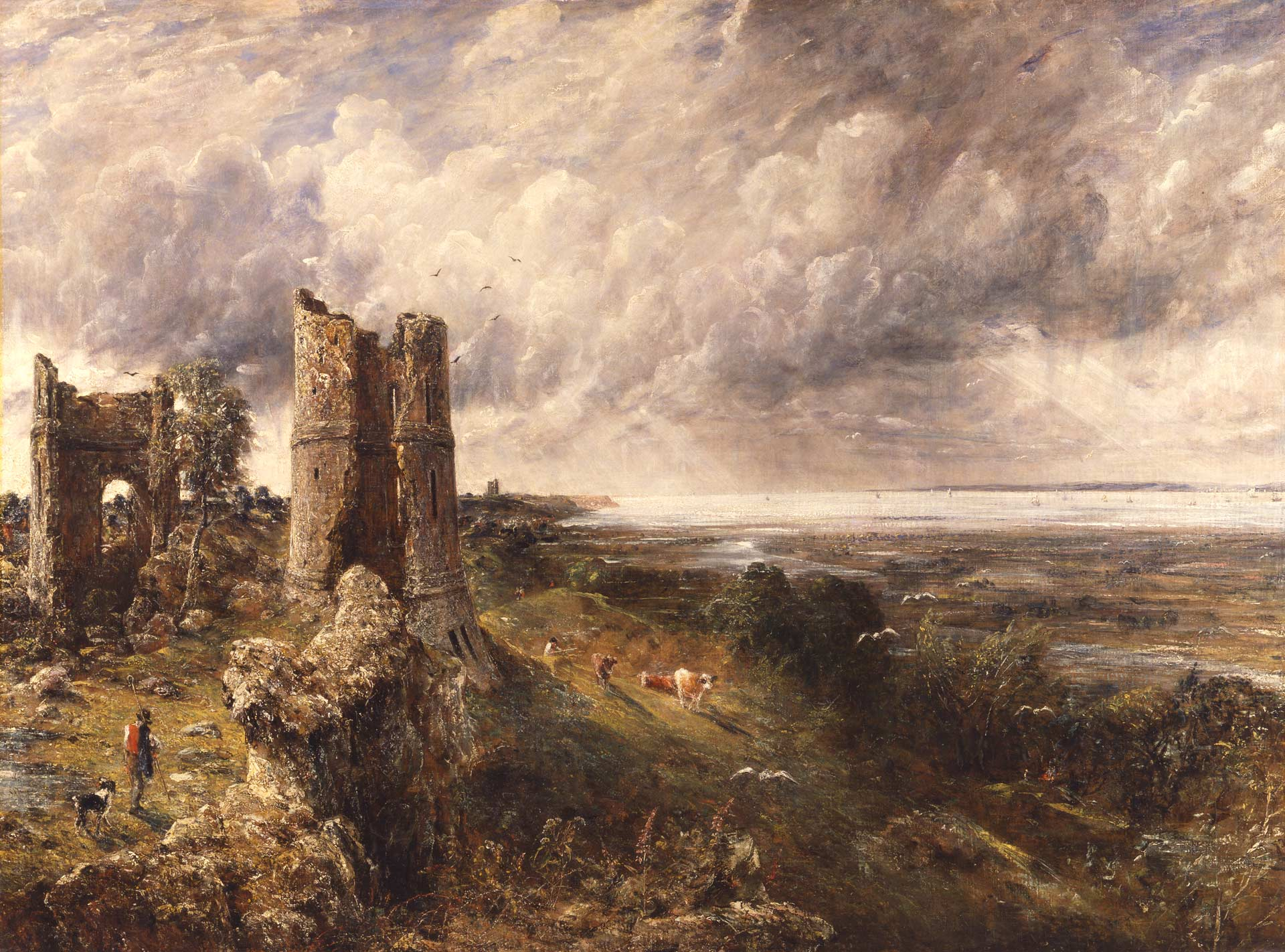 Image result for constable hadleigh castle images