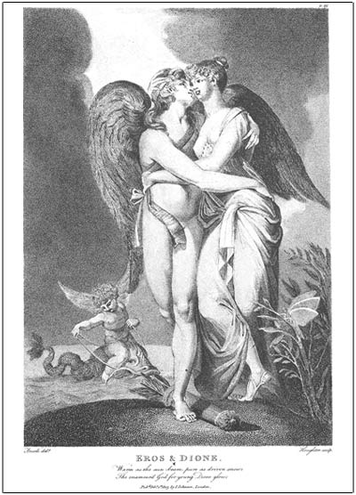 eros and dione