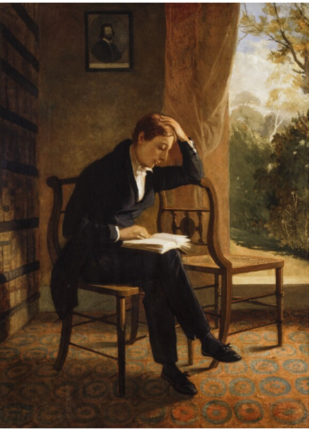 Appendix A. Image reproduced with                                     permission. © National Portrait Gallery London. Joseph Severn,                                     John Keats at Wentworth Place, NPG 58.
