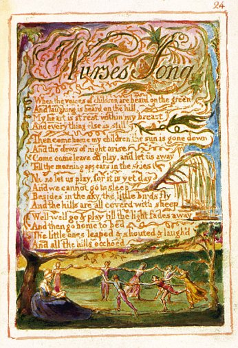 contraries in blakes song of experience In his songs of innocence and experience, shewing the two contrary states of the human soul, blake achieves a binary, deceptively simple version of that splendid unpleasantness.