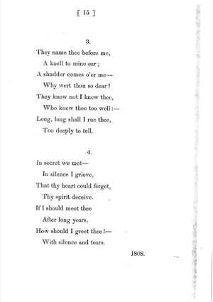 Lord Byron, Poems (1816), p. 15]