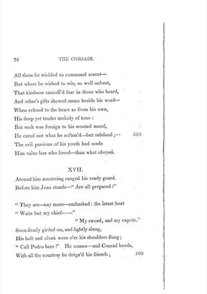 Lord Byron, The Corsair (1814), p. 28