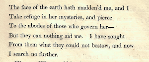Lord Byron, Manfred (1817) 33