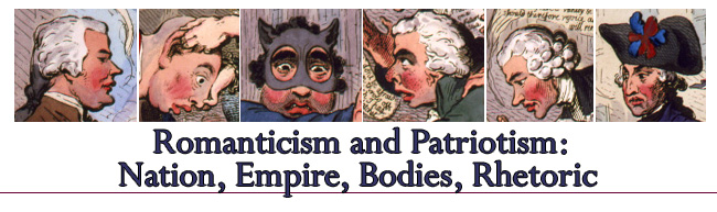 Romanticism and Patriotism: Nation, Empire, Bodies, Rhetoric