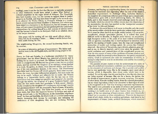 Figure 4: The Country and the City, pp. 114–15.