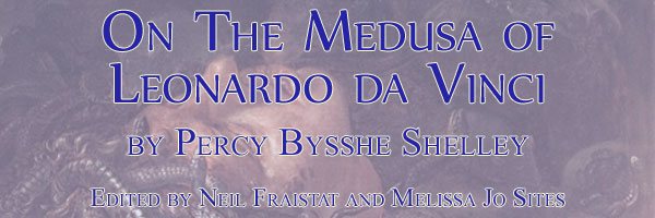 On the Medusa of Leonardo Da Vinci, Edited by Neil Fraistat and Melissa Jo Sites