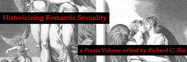 Historicizing Romantic Sexuality, Edited by Richard C. Sha
