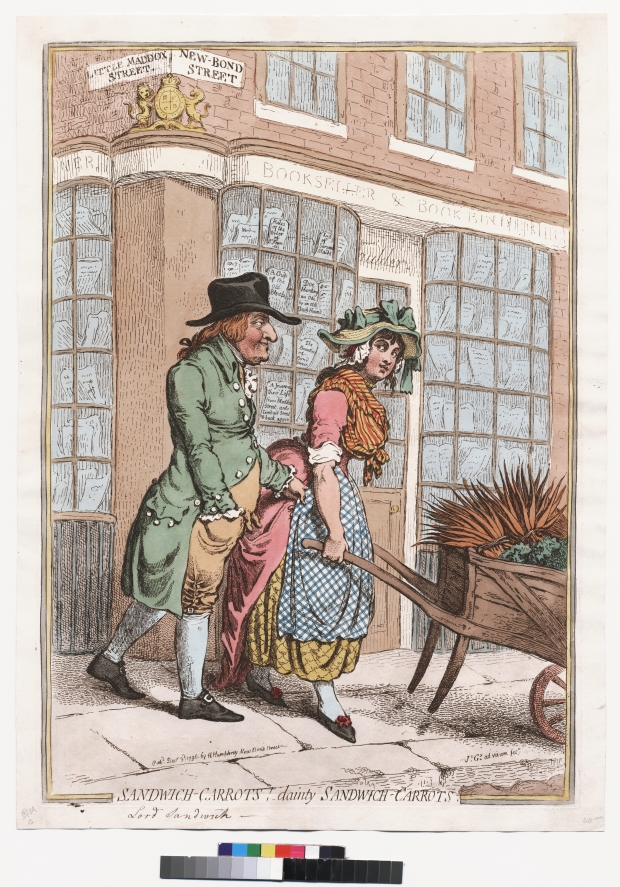 Women And Power In James Gillray S Caricature Irony Elaborating On