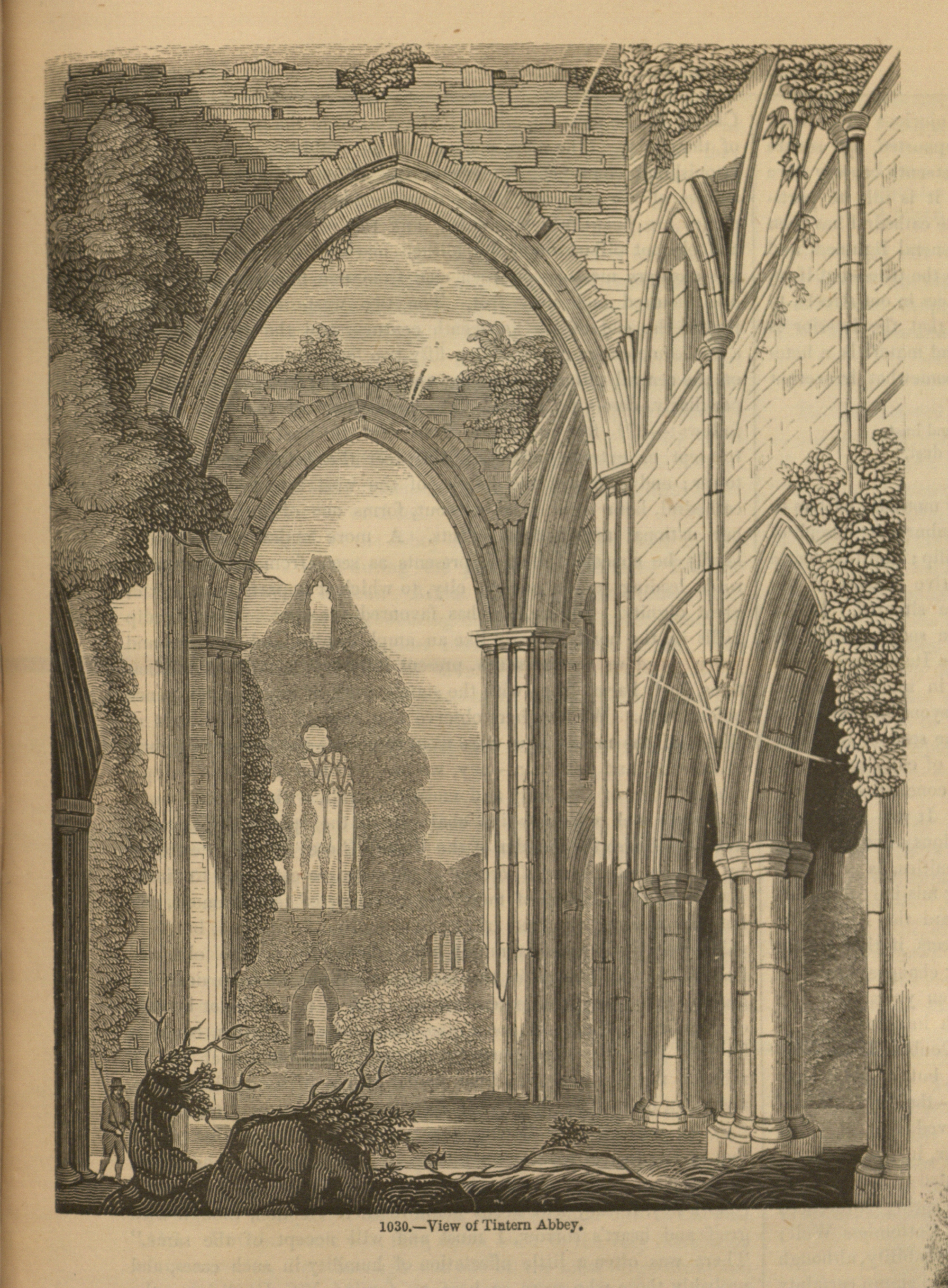 romantic characteristics in tintern abbey Two of wordsworth's earlier poems, tintern abbey (text) and ode:  ruskin  singles out three wordsworthian qualities for special praise: his.