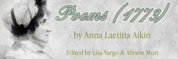 Poems 1773, Edited by Lisa Vargo and Allison Muri