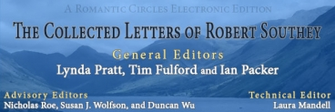 The Collected Letters of Robert Southey, Edited By Lynda Pratt, Tim Fulford and Ian Packer