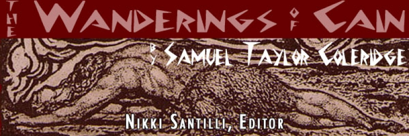 The Wanderings of Cain, Edited by N. Santilli