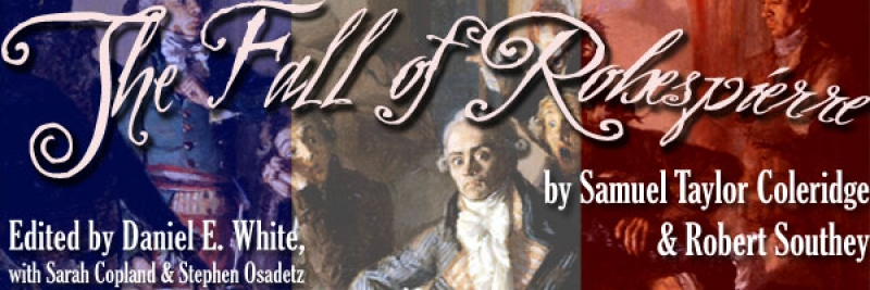 The Fall of Robespierre, Edited by Daniel E. White