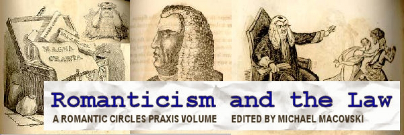 Romanticism and the Law, Edited by Michael Macovski