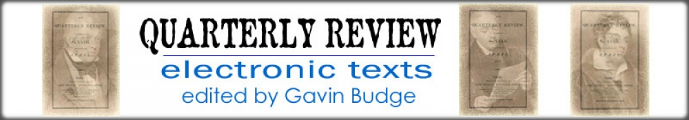 Quarterly Review Electronic Texts