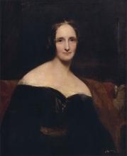 Mary Shelley by Richard Rothwell