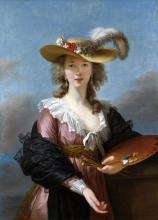 Self-portrait in a Straw Hat, 1782