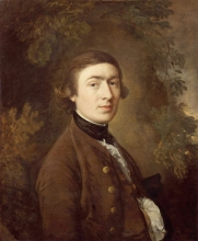 Thomas Gainsborough self portrait, 1759