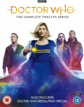 cover of Doctor Who DVD