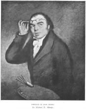Portrait of John Crome, by Michael William Sharp