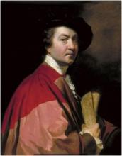 Joshua Reynolds self-portrait, 1776