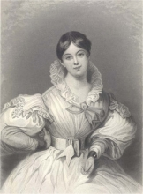 Letitia Elizabeth Landon by Maclise