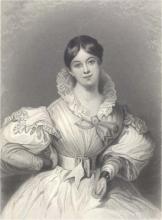 Letitia Elizabeth Landon by Maclise
