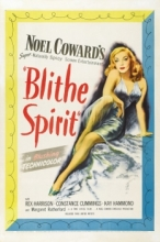 Poster of movie adaptation of Blithe Spirit