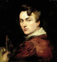 Self portrait of George Hayter aged 28, painted in 1820 (National Portrait Gallery)