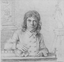 John Flaxmanm, Self-portrait aged 24, 1779