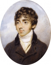 Portrait of Thomas Girtin  BY Henry Edridge