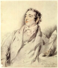 Thomas Rowlandson by George Henry Harlow, 1814