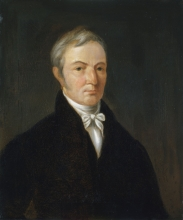 William Anderson self-portrait, c. 1800